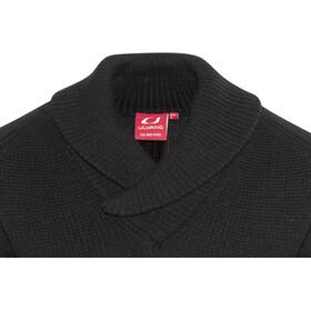 Ulvang Rav Shawl Neck Wool Sweater Unisex Black